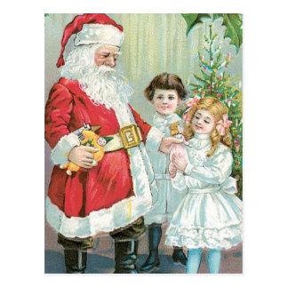Sankt mit Kindern Postkarte