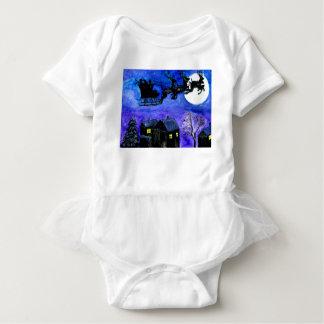 Sankt-Nachtflug Baby Strampler