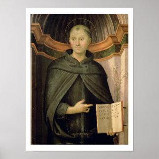 Sankt Nikolaus von Tolentino (Platte) Poster