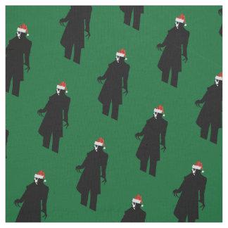 Sankt nosferatu Weihnachtsweihnachtsgewebe Stoff