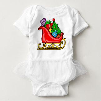 Sankt Pferdeschlitten Baby Strampler