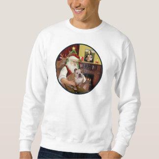 Sankt (R) - Englische Bulldogge 1 Sweatshirt