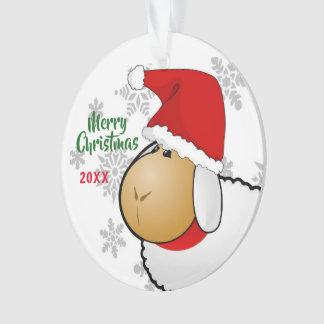 Sankt-Schaf-Cartoon-Verzierung des Ornament