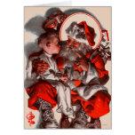 Sankt Schoss Grußkarte