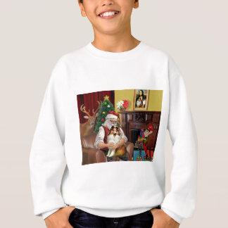 Sankt Sheltie (sw) Sweatshirt