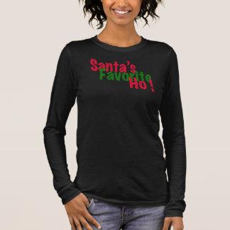 Sankt T - Shirtentwurf Lieblings ho lustiger Langarm T-Shirt