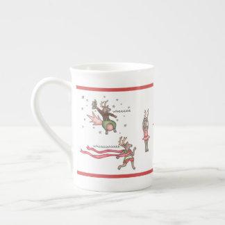 Sankt Team-Knochen-China-Tasse Porzellantasse