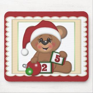 Sankt-Teddybär Mousepad