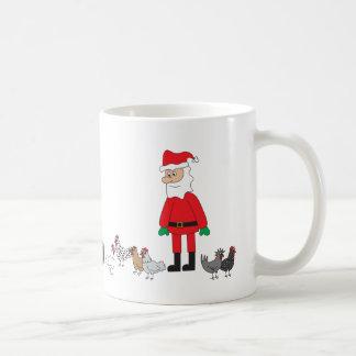 Sankt und Hühner Kaffeetasse