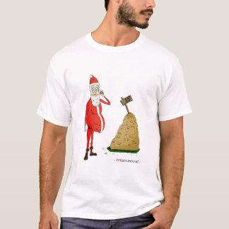 """""""Sankt Weg-Jahreszeit"""" weißer T - Shirt"""