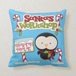 Sankt Werkstatt-Pinguin Kissen