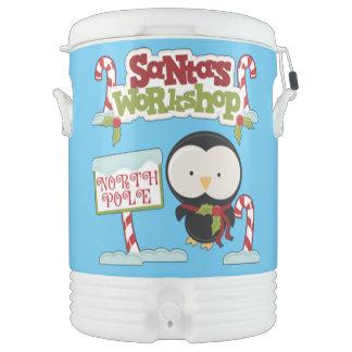 Sankt Werkstatt-Pinguin/ziemlich Feiertage Kühlbox