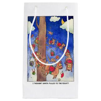 Sankt zog zur rechten Geschenk-Tasche Kleine Geschenktüte