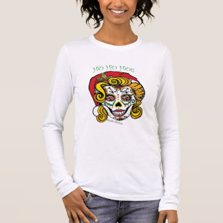 Sankt-Zuckerschädel-T-Shirt durch Studio Burke Langarm T-Shirt