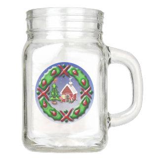 Sankt-Zuhause Einmachglas