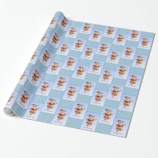 Sanktcorgi-WeihnachtsPackpapier Geschenkpapier