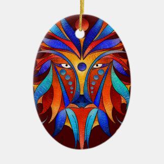 Sanopsilla - der Hund Ovales Keramik Ornament
