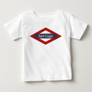 Sant Cugat Metro Baby T-shirt
