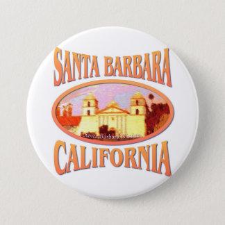Santa Barbara Kalifornien Runder Button 7,6 Cm
