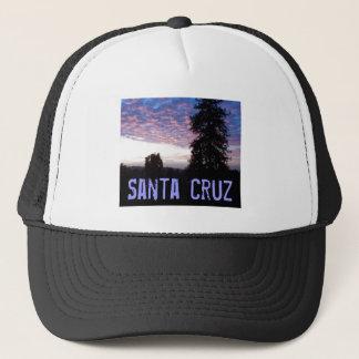 Santa- Cruzsonnenuntergang-Fernlastfahrer-Hut Truckerkappe