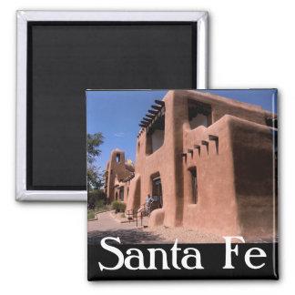 Santa- FeNew Mexiko-Magnet Quadratischer Magnet