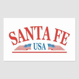 Santa- FeNew Mexiko Rechteckiger Aufkleber