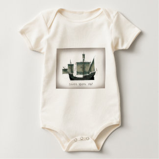 Santa Maria 1492 durch Tony Fernandes Baby Strampler