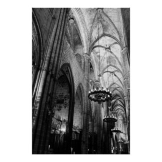 Santa Maria Del Mar Barcelona Plakat