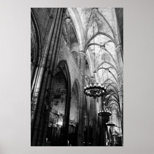 Santa Maria Del Mar, Barcelona Plakat