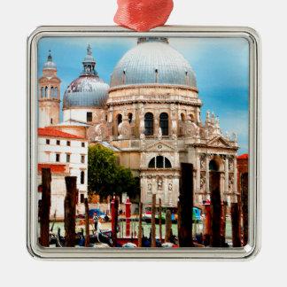 Santa Maria della Gruß Silbernes Ornament