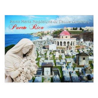 Santa Maria Magdalena de Pazzis Cemetery Postkarte