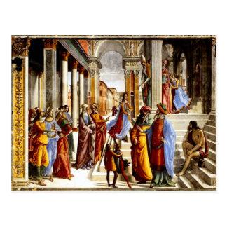 Santa- Marianovelle, Darstellung von Mary Postkarte