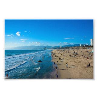 Santa Monica, Kalifornien Fotodruck