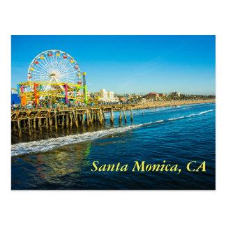 Santa Monica Kalifornien Postkarte