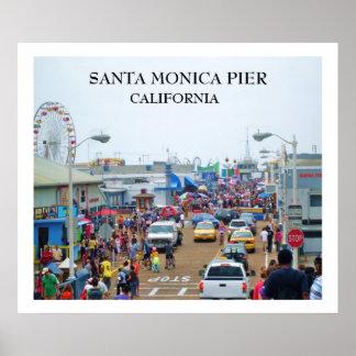 SANTA MONICA PIER-Plakat Poster
