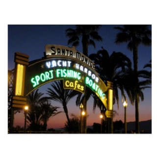 Santa Monica Pierpostkarte Postkarte