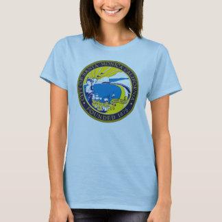 Santa Monica Stadt-Siegel-Shirt T-Shirt