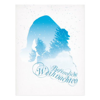 Santa Postkarte