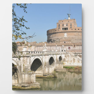 Sant'Angelo Schloss in Rom, Italien Fotoplatte