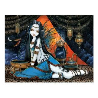 Santha himmlischer Stammes- weiser feenhafter Enge Postkarte