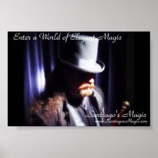 Santiagos Magie - Schatten-Hut-Plakat Poster