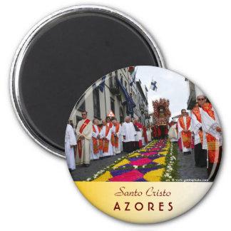 Santo Cristo Prozession Runder Magnet 5,1 Cm