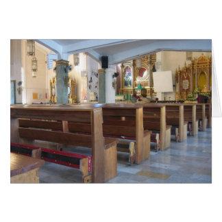 Santo Niño Kirche Grußkarte
