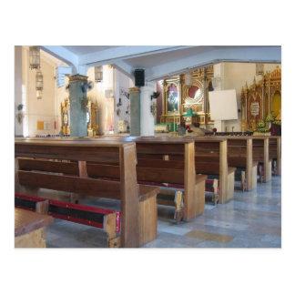 Santo Niño Kirche Postkarte