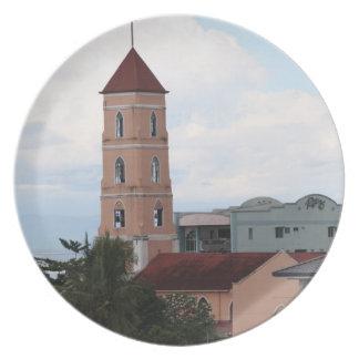 Santo Niño Kirche, Tacloban Stadt Flache Teller