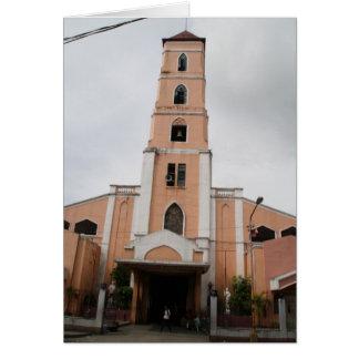 Santo Niño Kirche, Tacloban Stadt Grußkarte