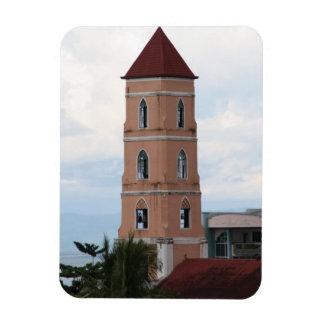 Santo Niño Kirche, Tacloban Stadt Rechteckiger Fotomagnet