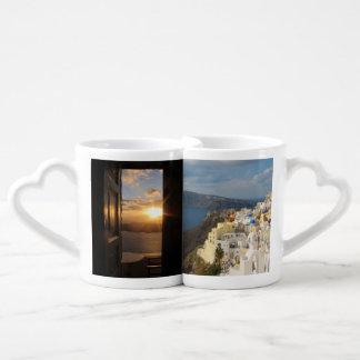 Santorini am Nachmittag Sun Liebestasse