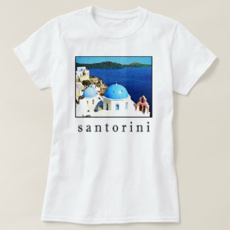 Santorini Andenken-T - Shirt (Männer, Frauen,