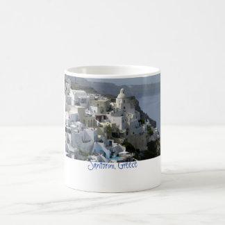 Santorini, Griechenland Kaffeetasse